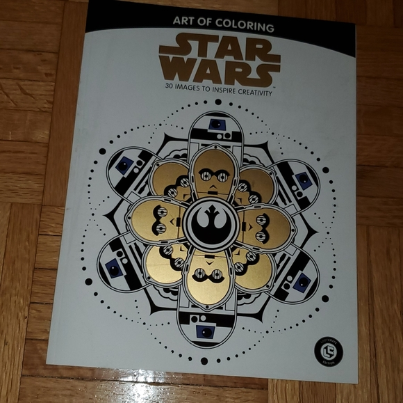 - Office Star Wars Coloring Book Colored Pencils Poshmark